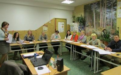 10 bendruomenių baigėsi užsieno kalbų kursai