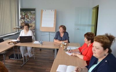 Pirmasis naujos VVG tinklo valdybos posėdis Vilniuje