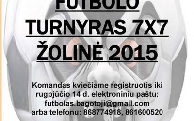 Tradicinis futbolo Žolinės turnyras ir Sūduvos VVG projektų pristatymas