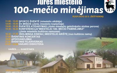 Jūrės miestelio 100- metis