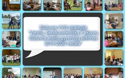 Baigta rengti ir atiduota vertinimui 2016-2023 metų Sūduvos VVG strategija
