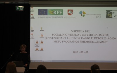 Socialinio verslo diskusija