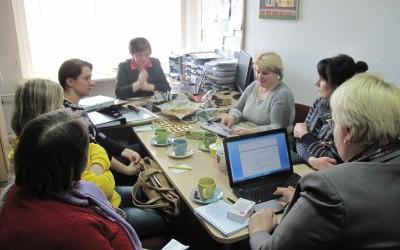 Soc. darbuotojų pasitarimas