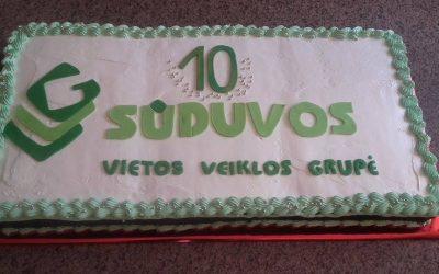 Sūduvos VVG 10- metis