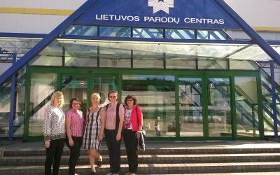 Pasiruošimas tarptautiniam renginiui LITEXPO rūmuose