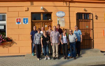 Erasmus projekto darbo grupės posėdis Slovakijoje