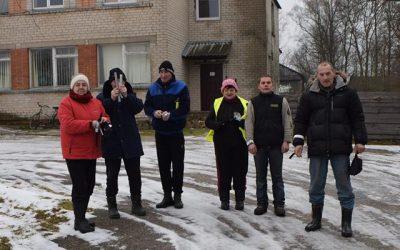 Eismo saugumo projektas Gudelių kaimo bendruomenėje
