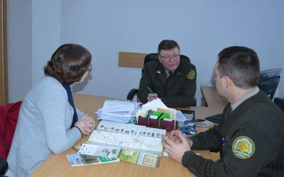 Susitikimas su Kazlų Rūdos miškų urėdijos vadovu