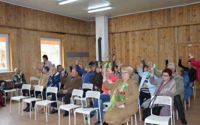 Višakio Rūdos bendruomenės ataskaitinis rinkiminis susirinkimas