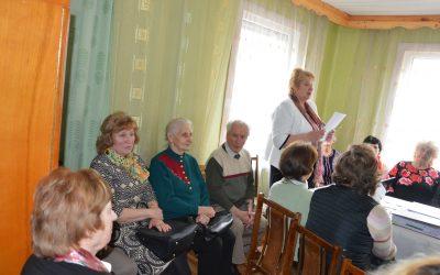 Kazlų Rūdos senjorų klubo ataskaitinis rinkiminis susirinkimas
