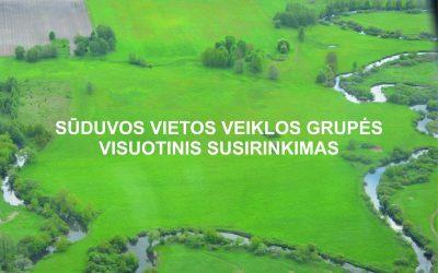 Sūduvos VVG ataskaitinis rinkiminis susirinkimas