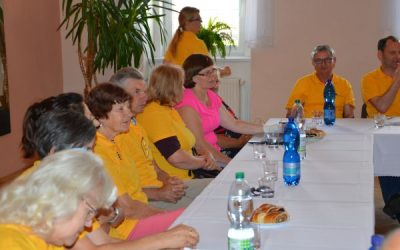 Tartptautinio projekto dalyvių susitikimas