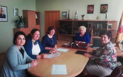 Susitikimas Marijampolės savivaldybėje