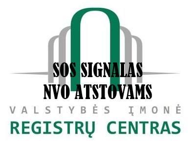 NVO ataskaitų teikimas Registrų centrui