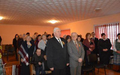 """Kazlų Rūdos miesto ir kaimo bendruomenės dalyvavo kultūrinėje iniciatyvoje dainuojant """"Lietuva brangi"""""""