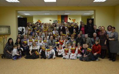 Bagotosios bendruomenė minėjo Lietuvos Atkūrimo 100- metį