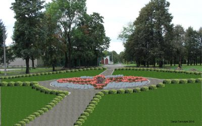 Antanavo bendruomenė kviečia išsakyti savo nuomonę dėl parko gėlynų sutvarkymo
