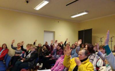 Jankų bendruomenės ataskaitinis rinkiminis susirinkimas