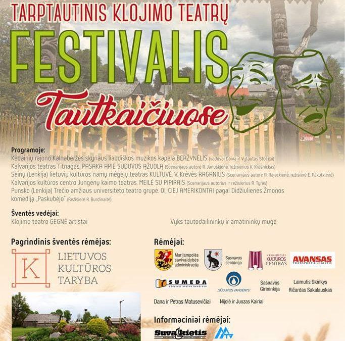 Tautkaičių bendruomenė kviečia į Klojimo teatrų festivalį