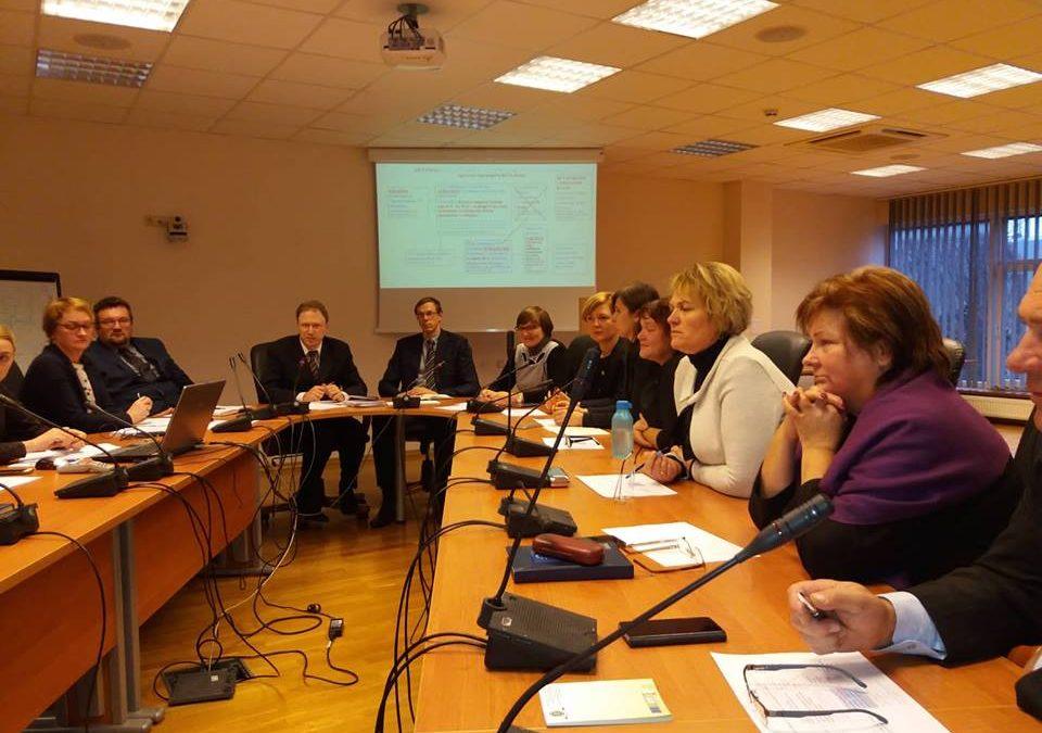 LEADER metodo įgyvendinimo koordinavimo grupės posėdis