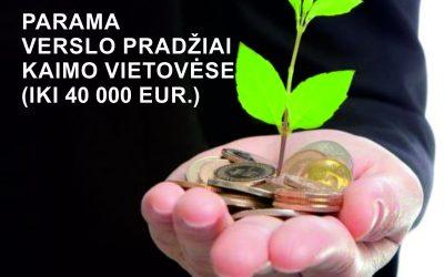 Patvirtintos įgyvendinimo taisyklės verslo startuoliams (kompensuojant išlaidas iki 40 tūkst. Eur)