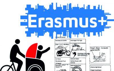 Sūduvos VVG pasirašė 4 šalių ERASMUS + projekto įgyvendinimo sutartį