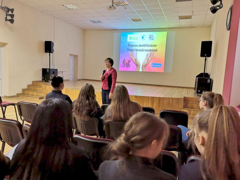 Jaunimas kviečiamas dalyvauti tarptautiniame projekte